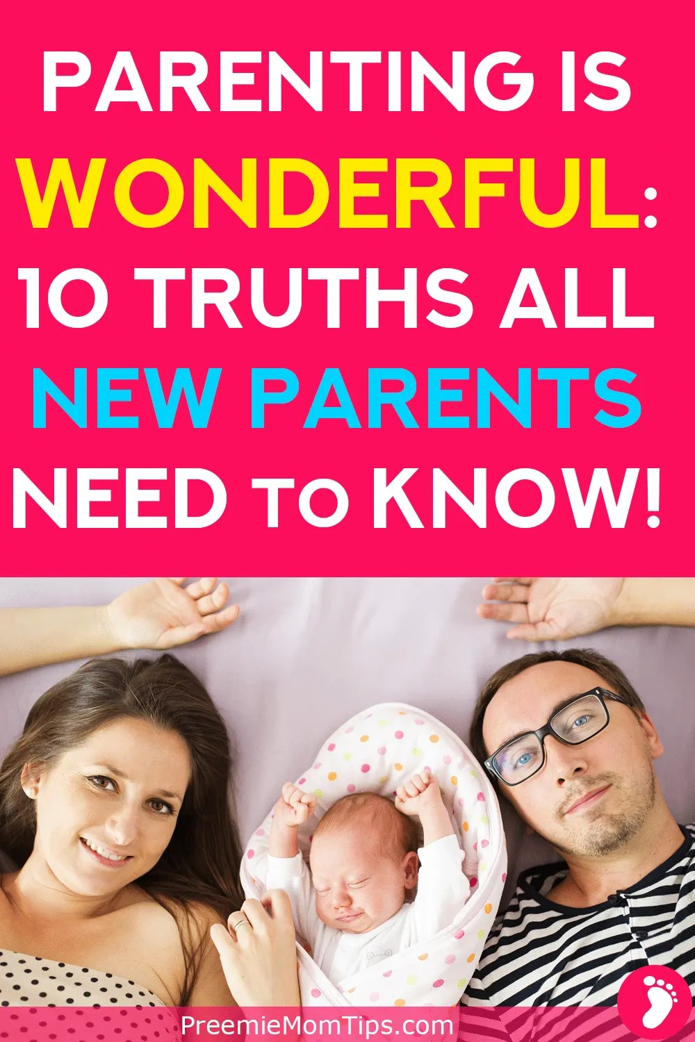 Is having a baby really as hard as people say? Don't worry, being a new parent is wonderful, and if you need new parent advice, here are 10 things I wish I had known before becoming a new mom!