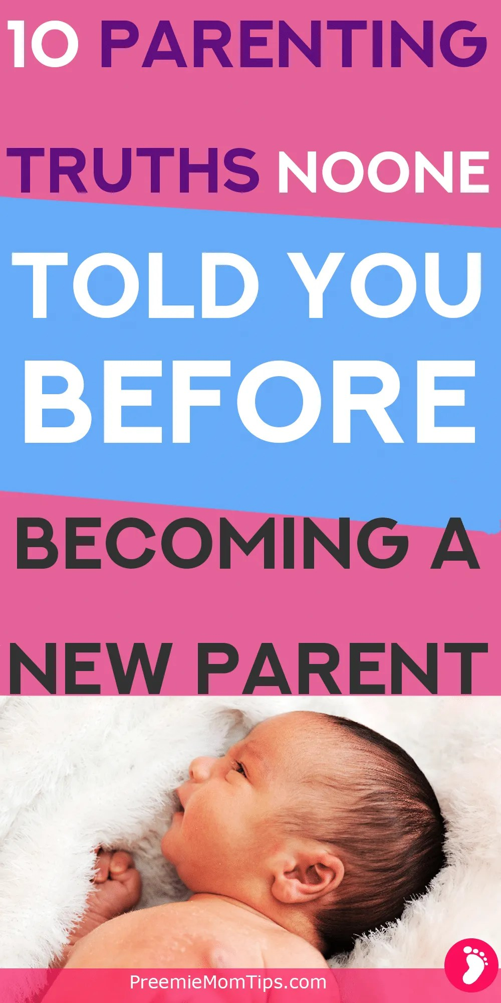 Aren't you tired of reading how hard being a first time mom is going to be? Here are 10 parenting truths about first time parenting beyond being sleep-deprived. Spoiler alert: you'll love being a new mom!