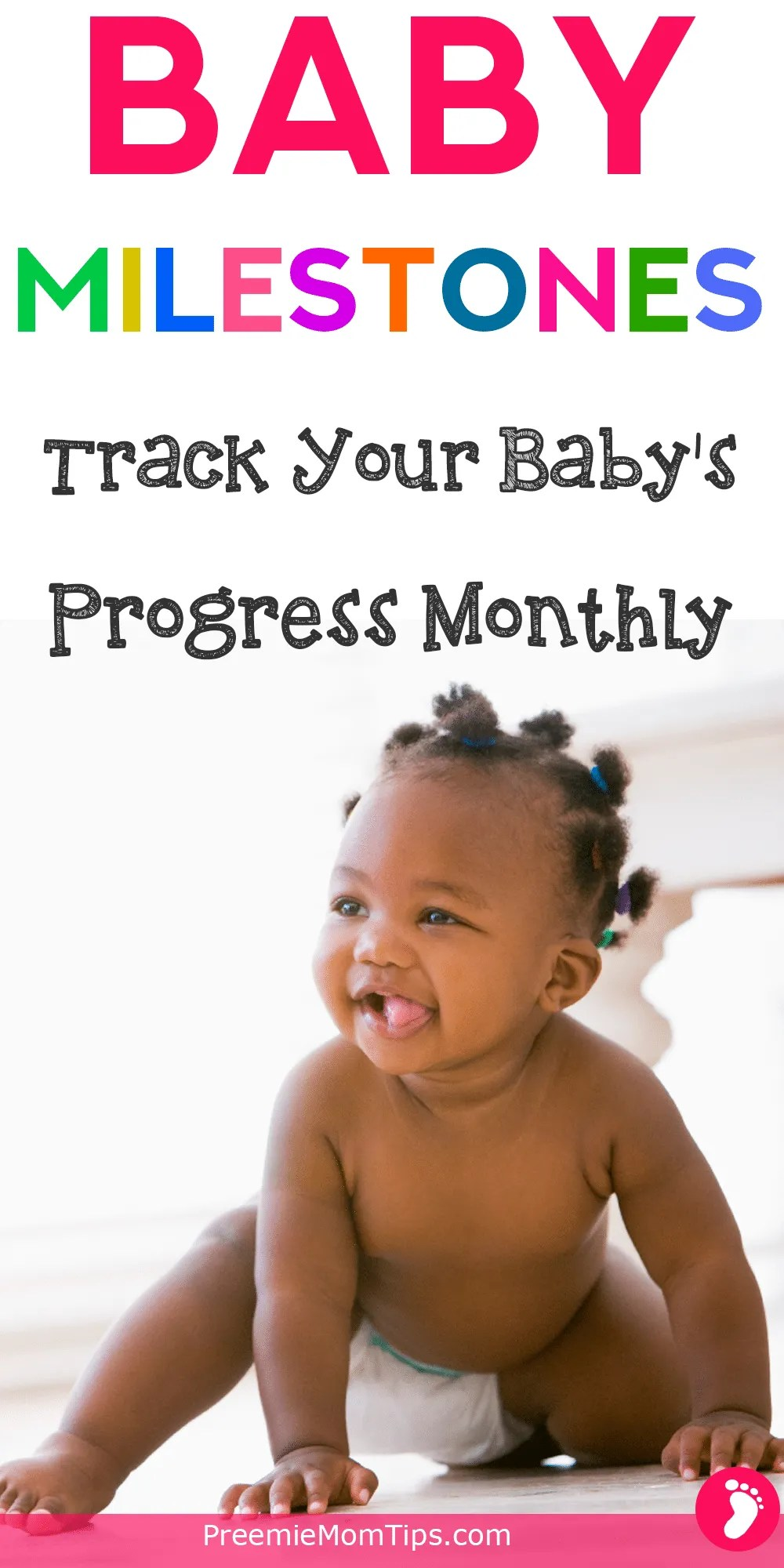 Are you a worried mama? Keep track of your baby's progress during the first year. Become a baby expert and know what to expect in your baby's development.