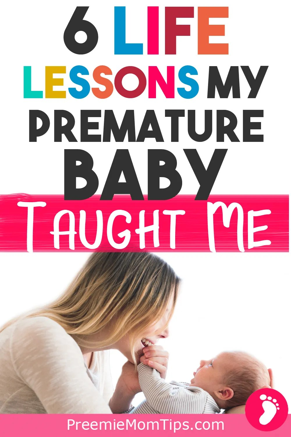 A must read for preemie moms! Having a premature baby was, for me, witnessing a miracle! Here are my thoughts on becoming a proud preemie mom! #preemiemom #mom #baby #prematurebaby