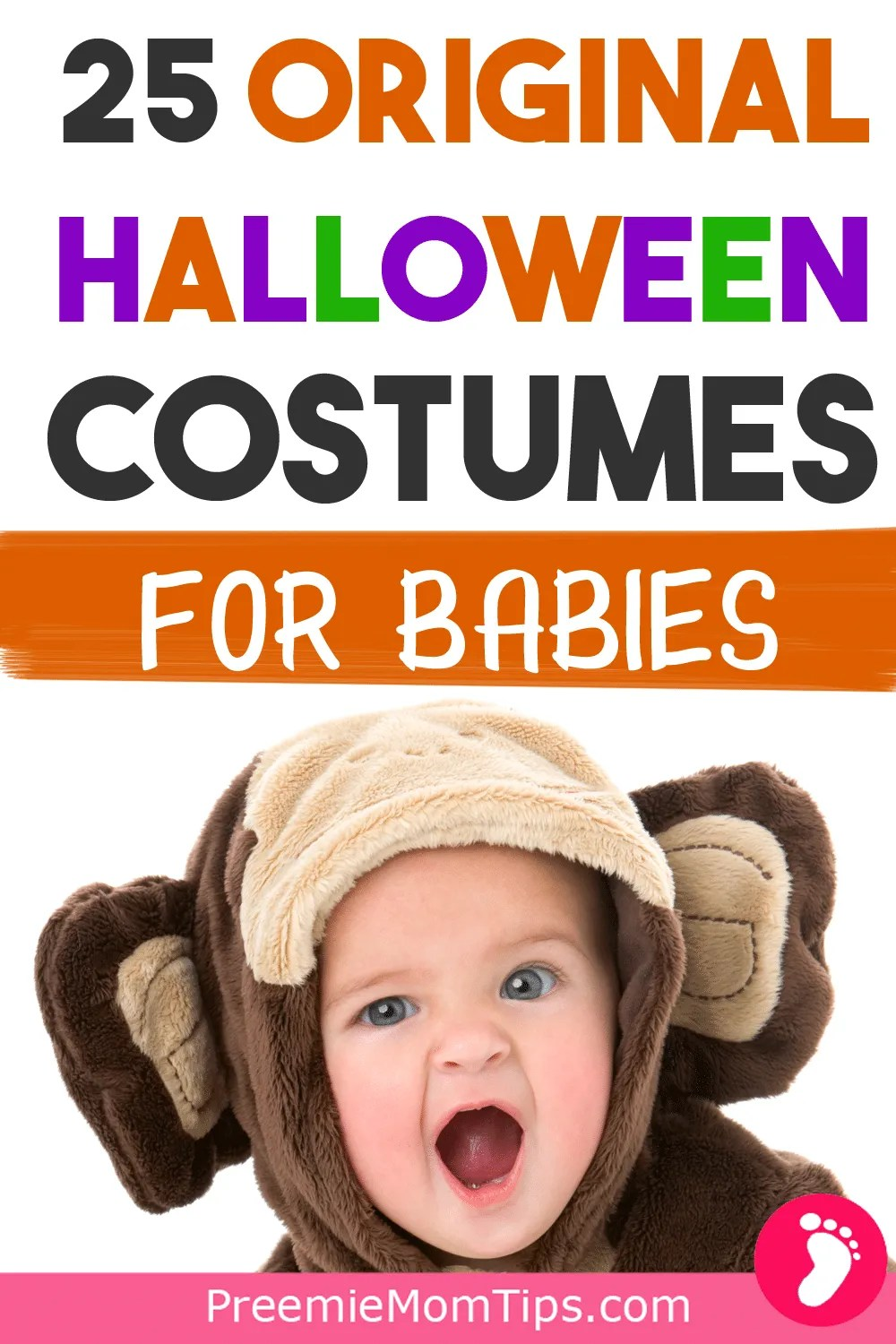 Get ready for some Halloween fun with these 25 exciting, original, classic and super cute Halloween costumes for your baby's first Halloween ever. Start the spooky season in a great fashion!