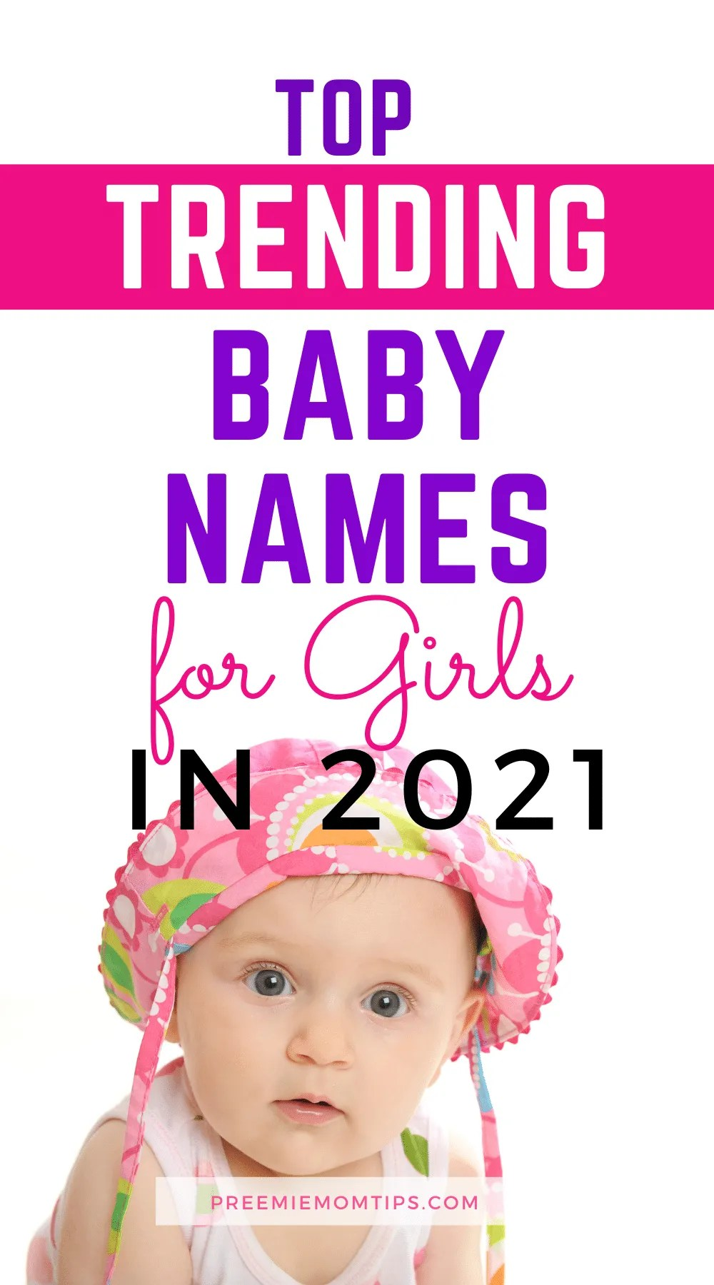 If you're looking for the perfect name for your baby girl, here are the top trending baby names for girls.