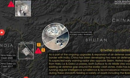 New satellite imagery suggests China developing missile bases to cover Doklam, Naku La