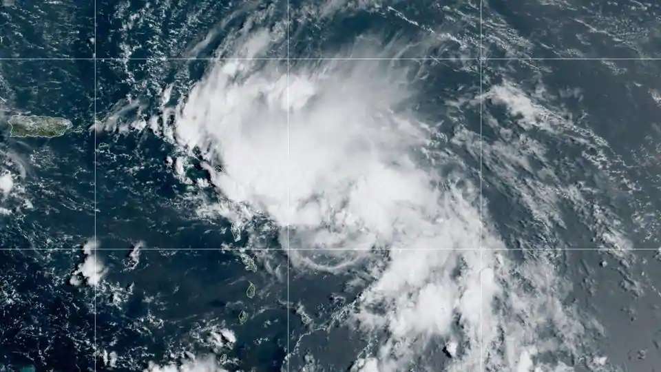 Two tropical storms a potential double threat to US Gulf Coast