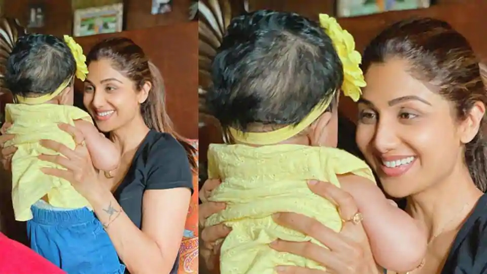 Shilpa Shetty shares adorable glimpse of baby girl Samisha on Daughter's Day, says 'Who says miracles don't happen'. See pic