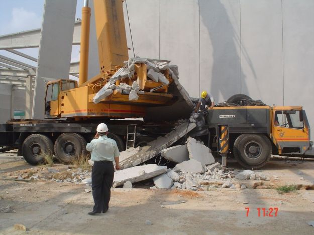 Foto de accdiente de Prefabricado de hormigón