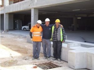 Es muy importante la fomación del equipo de montaje de prefabricado de hormigón