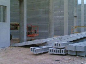 foto de accidente de caída de paneles