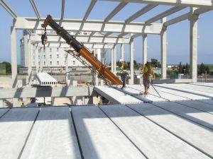 útiles de seguridad en el montaje de prefabricado