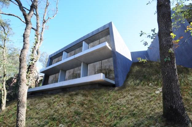 una forma de construir las casas prefabricadas de hormigón