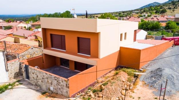 vivienda modular realizada con material de 3S Diseño Estructural