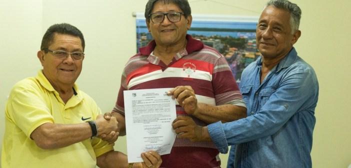Ordem de Serviço Assinada da Construção de Escola no Jutuba