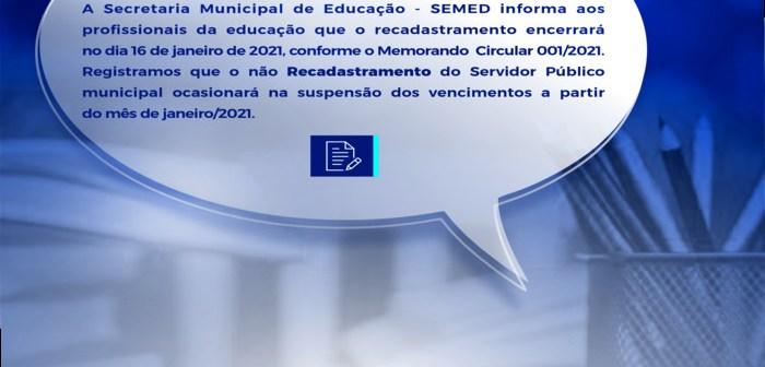Informativo SEMED