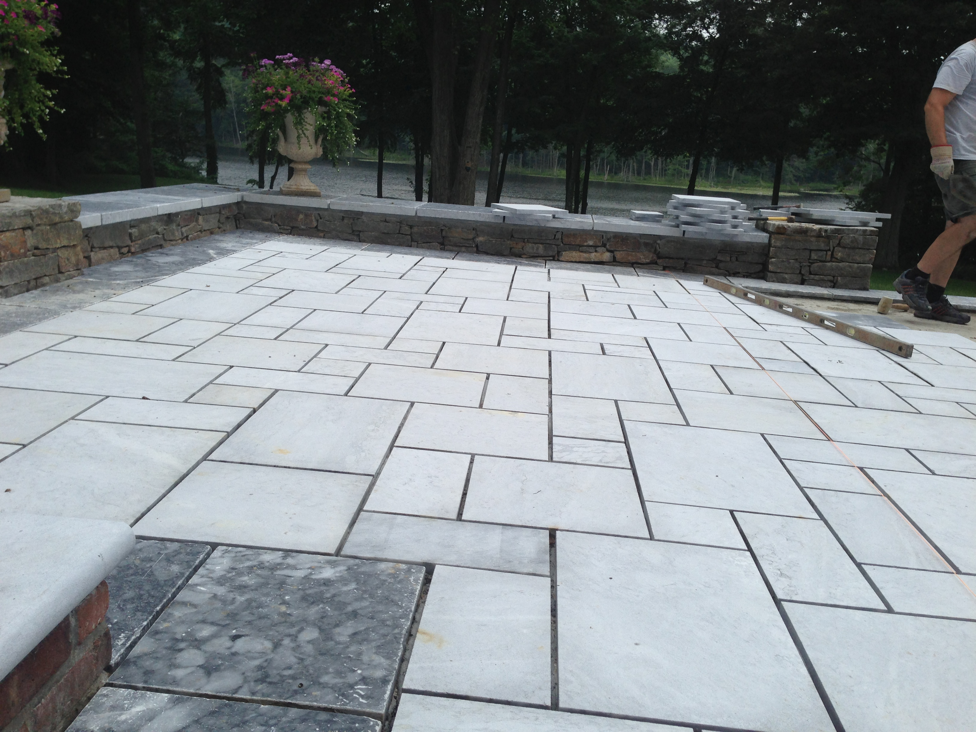 Outdoor Living Life Of Luxury Marble Flooring And