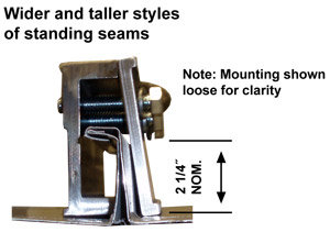 Two-Way Universal Standing Seam Clamp