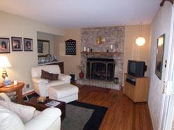 Burke Virginia Family Room Before HomeStaging
