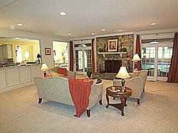 Oakton VA family room after home staging