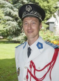 concert de la musique des gardiens de la paix parc du luxambourg pour le 14 juillet