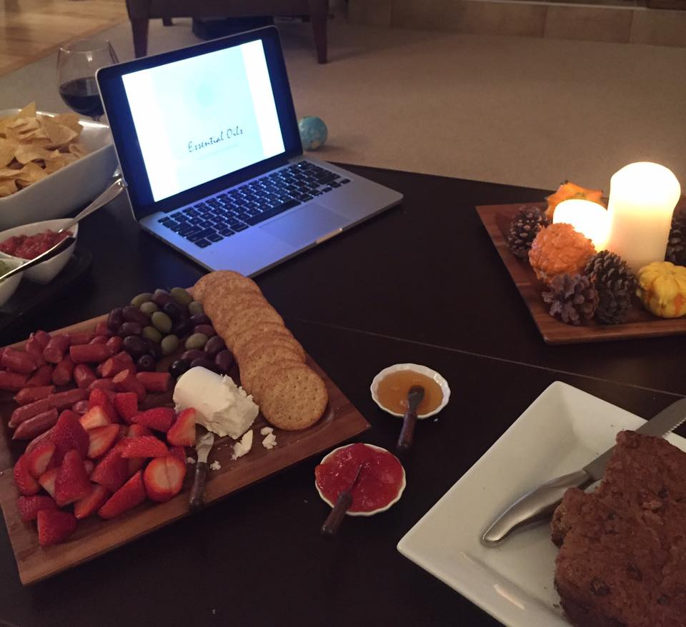 Last Night We Gathered To Learn How Essential Oils Can…