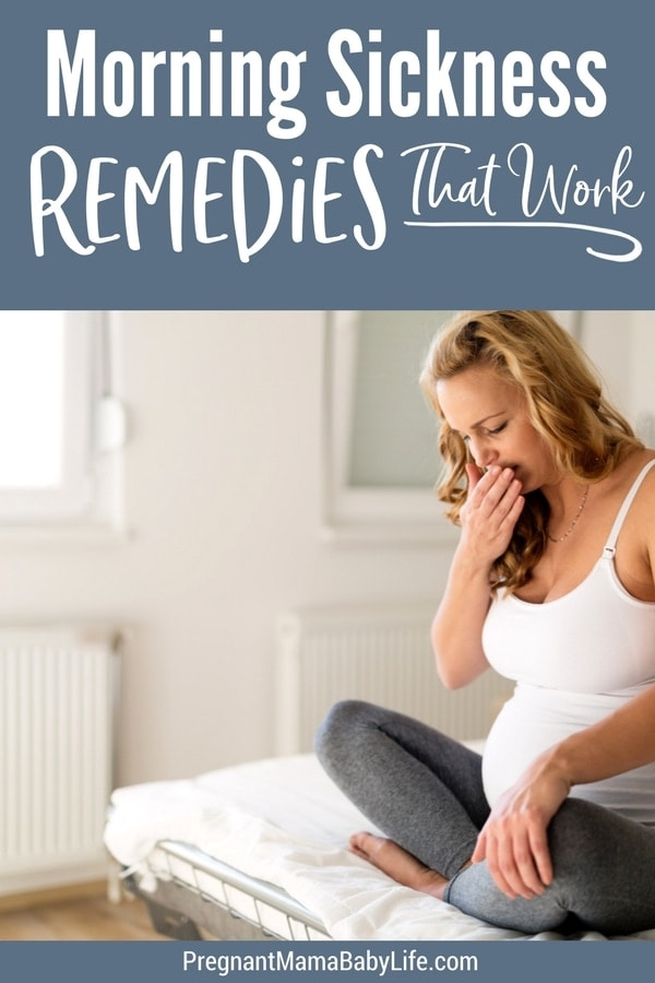 Morning sickness remedies that work. How to deal with nausea during pregnancy naturally and easily. The tried and true methods that will help relieve your morning sickness.