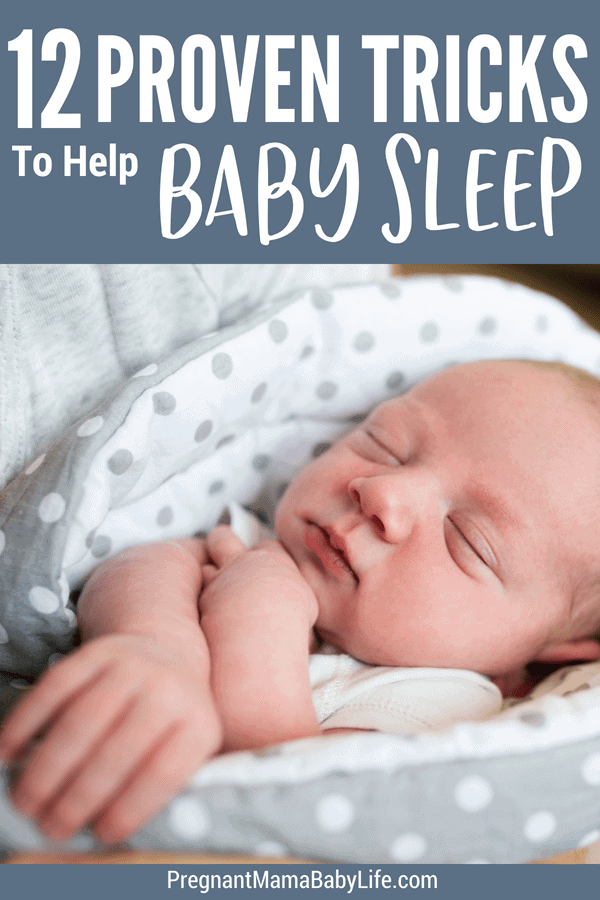 Get baby to sleep better. Proven tips for new moms to help even the most stubborn of babies go to sleep. No cry it out method here! Gentle sleep solutions for your baby or newborn.