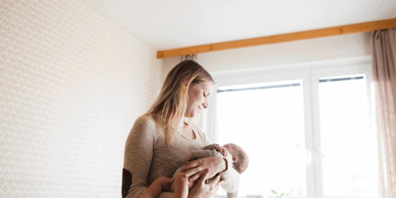 postpartum depression snuck up on me. I had no idea i had it.