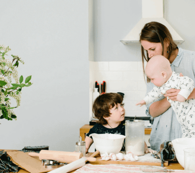 Feed your family easy, healthy simple meals during your postpartum recovery.