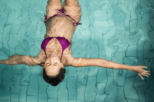 Is it safe to swim during pregnancy? What you need to know about swimming while pregnant. The benefits and safety precautions and what pregnancy exercises to do in the pool.