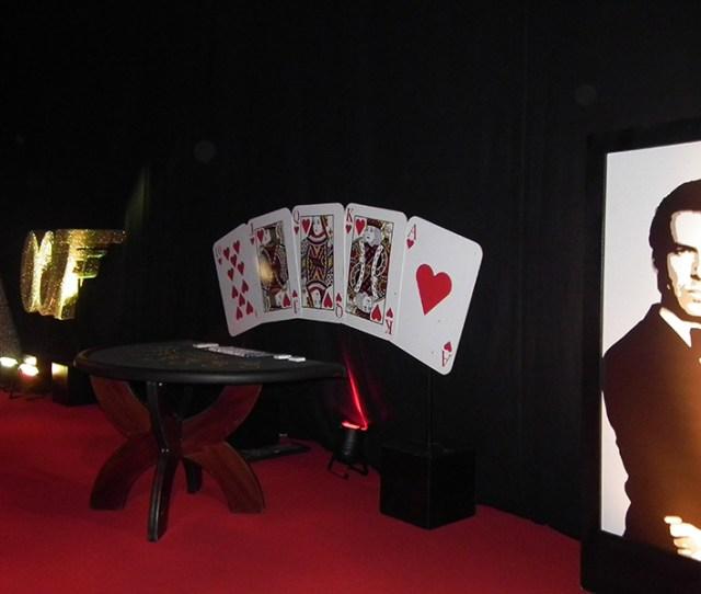 James Bond Themed Event 007 Theme Night