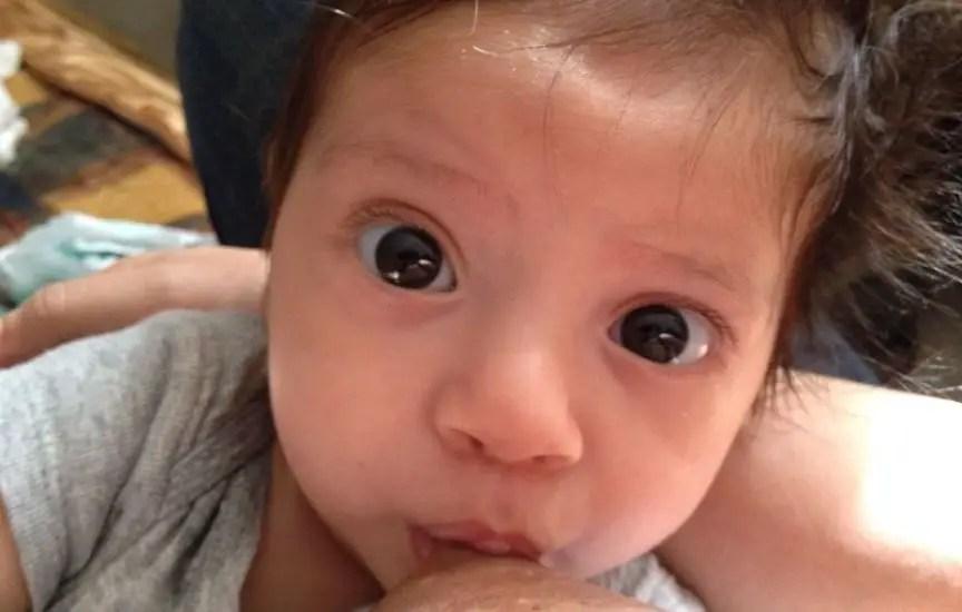 bebita y su tetica