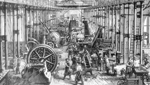 Factory Workers 19th Century London
