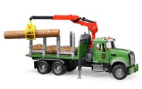 MACK Granite Holztransport-LKW mit 3 Baumstämmen