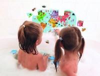 Puzzle für die Badewanne