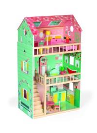 Puppenhaus Maxi Happy Day mit Möbel (Holz)