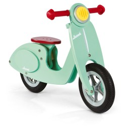 Laufrad gross Scooter mint (Holz)