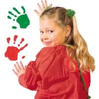 Fingerfarbe 4 Farben