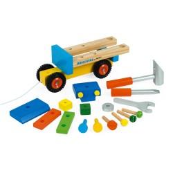Werkzeug-LKW zum Zusammenbauen (Holz)