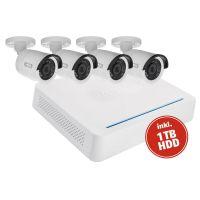 ABUS Analog HD Videoüberwachung 10-Kanal Hybrid Komplettset - TVVR33049T