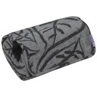 Dooky Arm Cushion - Babyschalentragepolster / Graue Blätter