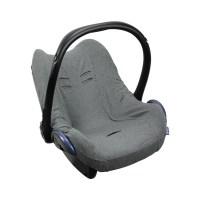 Dooky Seat Cover 0+ - Babyschalenbezug / Dunkelgrau meliert