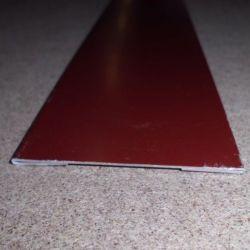 Giebelblende Alu 150 mm breit 25 my Polyesterlack