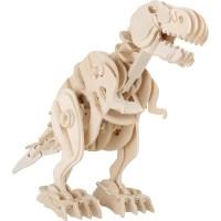 Holzbausatz Dino Roboter T-Rex mit Fernsteuerung