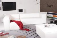 Ecksofa - Sofa Het Anker Leder Toledo beige Recamiere links Summer