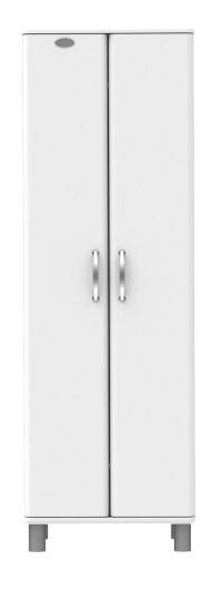 MALIBU - Designer Garderobenschrank 5263-016 weiß, MDF lackiert
