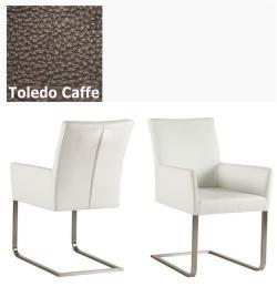 Freischinger - Agio  Leder Toledo braun ohne Griff von Kasper Wohndesign