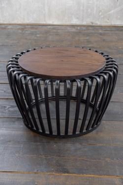 KAWOLA Couchtisch BIRA Tisch Metall schwarz