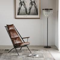 KAWOLA Sessel CIANO Clubsessel Vintage-Leder braun