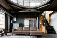 KAWOLA Sofa BLOOM Recamiere rechts Leder Retro taupe