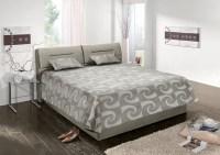 Polsterbett INA Kunstleder grau Bett 160x200cm