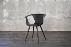 KAWOLA Stuhl DANA Esszimmerstuhl Kunststoff schwarz